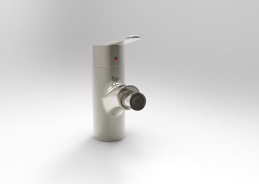 FAUCET TAP royalty-free 3d model - Preview no. 4