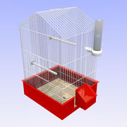 Vogelkooi 3d model