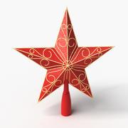 Topo da Árvore de Natal 3d model