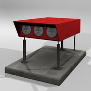 低聚PAPI灯 3d model