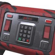 Sci-Fi heavy bomb 3d model