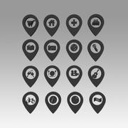 Indicatori di mappe 3d model