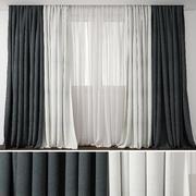 Curtain 50 3d model