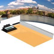 Balkonowa łazienka dla Poser 3d model