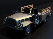 Dodge WC-51 3d model