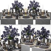 Tavolo di lusso 3d model