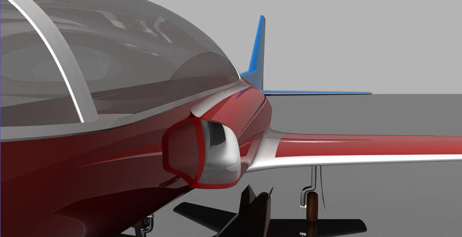 Viper jet royalty-free 3d model - Preview no. 11