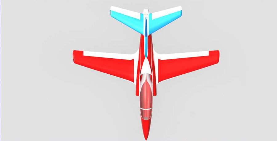 Viper jet royalty-free 3d model - Preview no. 14