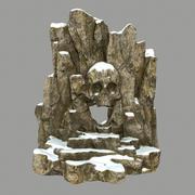 Skull_Cave 3d model