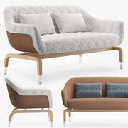 户外沙发SMANIA Figi 3d model