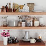Мелочи для кухни 3d model