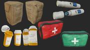 Erste-Hilfe-Sammlung PBR 3d model