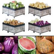 Obst- / Gemüsegestelle 3d model