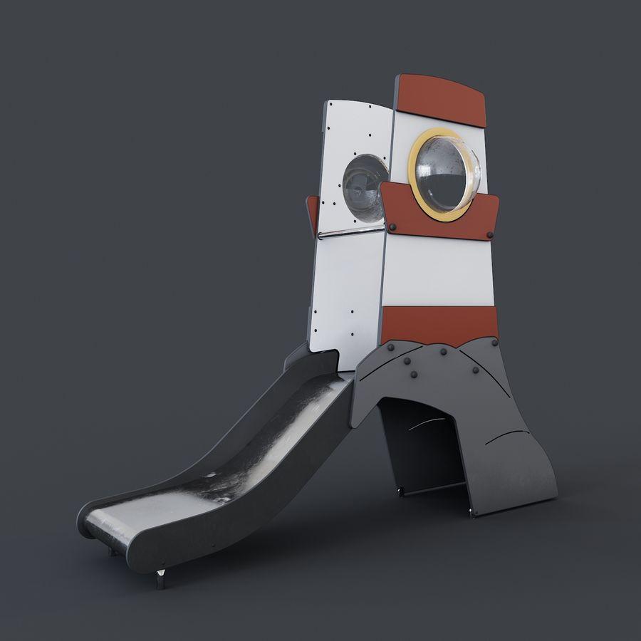 Slide Portland royalty-free 3d model - Preview no. 1