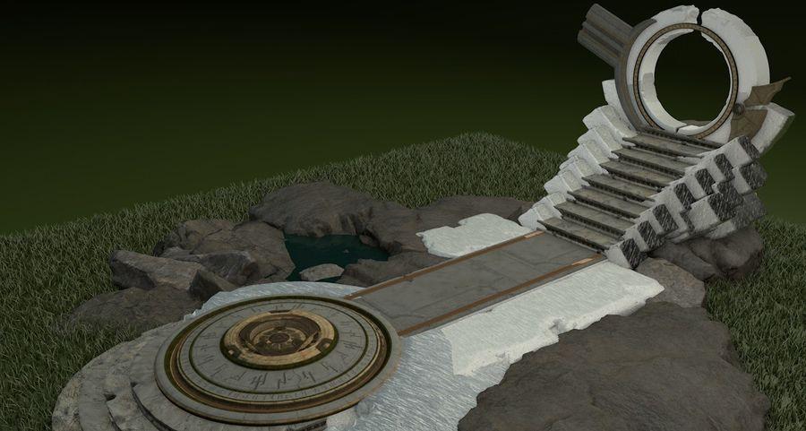 엘프 제단 royalty-free 3d model - Preview no. 1