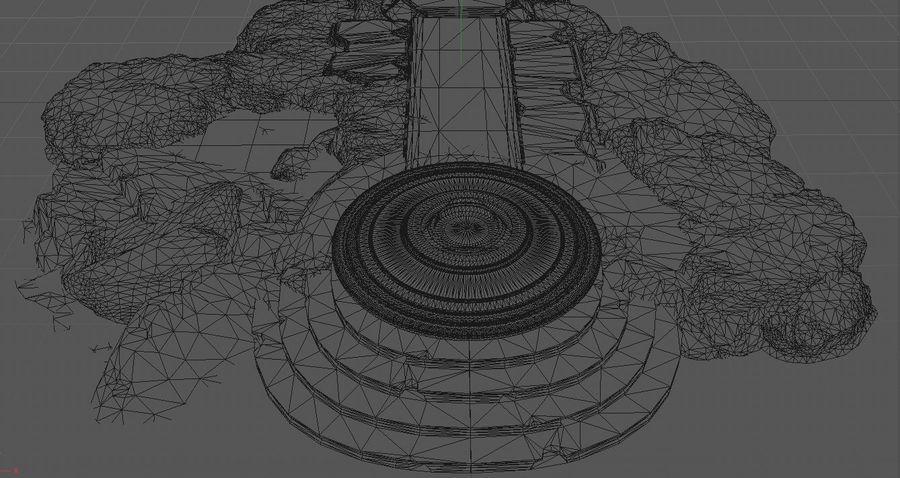 엘프 제단 royalty-free 3d model - Preview no. 11