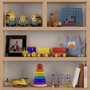 Giocattoli per bambini 2 3d model