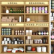 Trivia voor de keuken en winkel 3d model