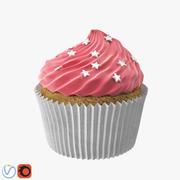 カップケーキ 3d model