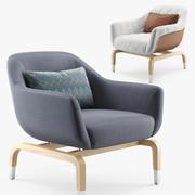 扶手椅SMANIA Figi 3d model