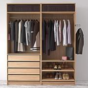 гардеробная одежда 3d model