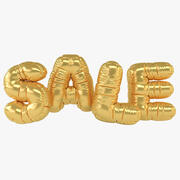 Ballonbrief verkoop 3d model
