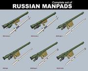MANPADS russos 3d model