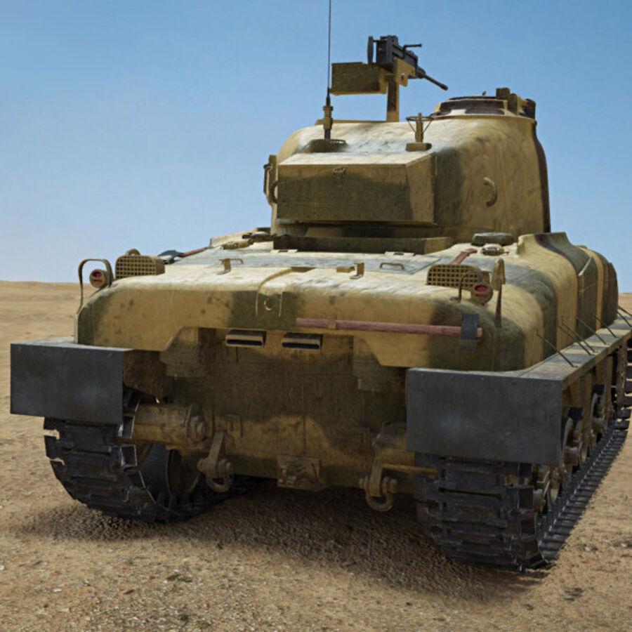 M4A1 Sherman royalty-free 3d model - Preview no. 7