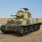 M4A1 Шерман 3d model