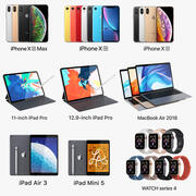 Apple Electronics Collection 2018-2019 v1 3d model