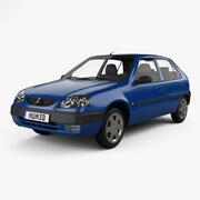 Citroen Saxo 1999 3d model