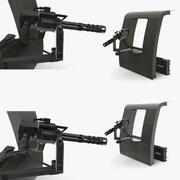 M134 Helicopter Mount System Collection 3d model