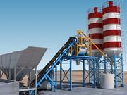 Impianto di betonaggio 3d model