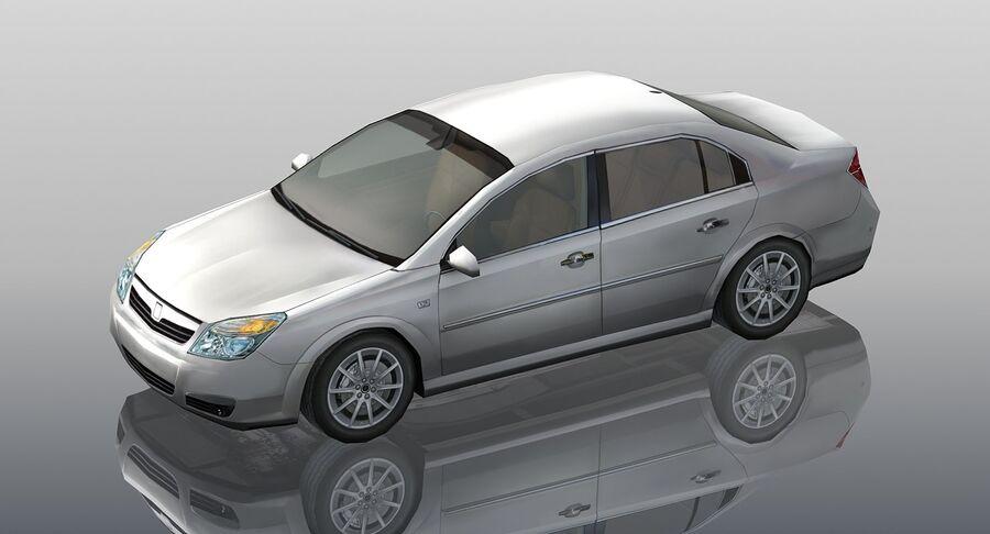 Generic Sedan Car royalty-free 3d model - Preview no. 6