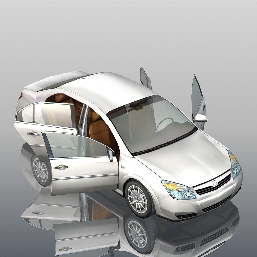Generic Sedan Car royalty-free 3d model - Preview no. 7