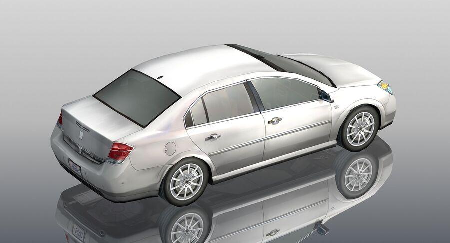 Generic Sedan Car royalty-free 3d model - Preview no. 4