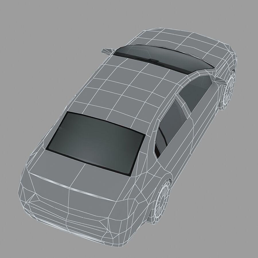 Generic Sedan Car royalty-free 3d model - Preview no. 16