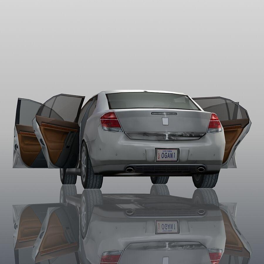 Generic Sedan Car royalty-free 3d model - Preview no. 12