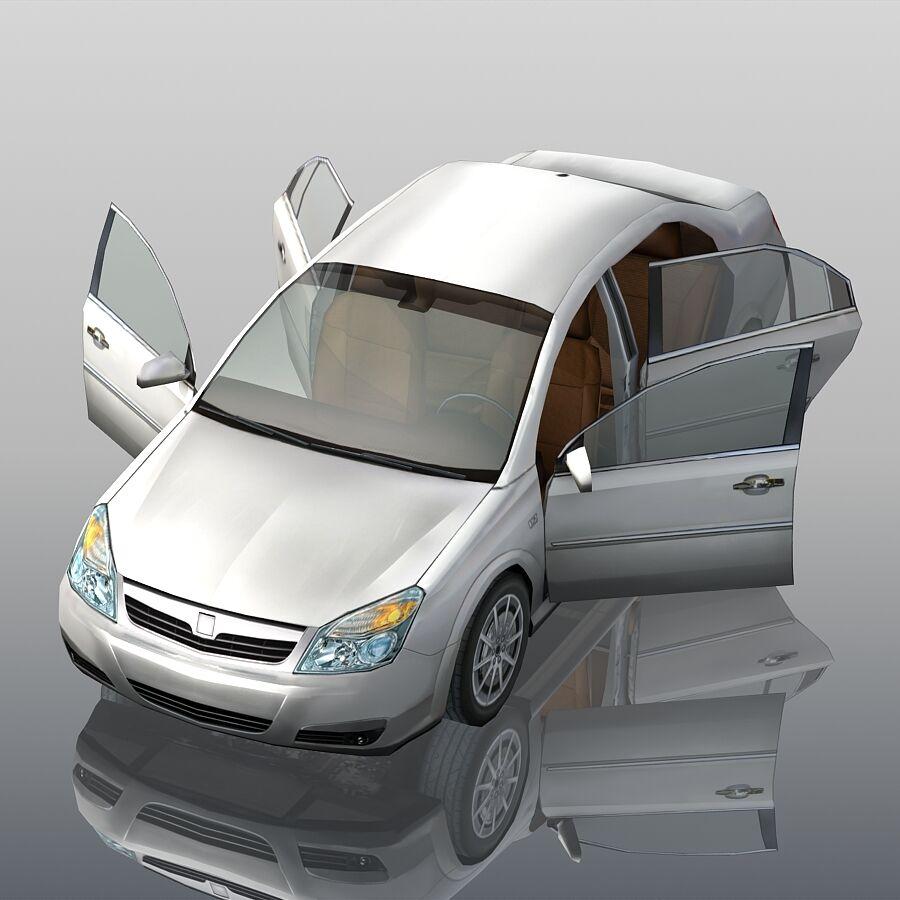 Generic Sedan Car royalty-free 3d model - Preview no. 10