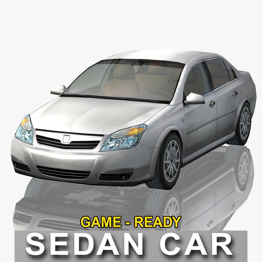 Generic Sedan Car royalty-free 3d model - Preview no. 2