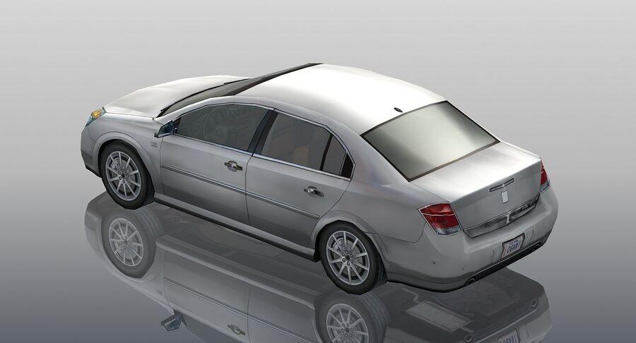 Generic Sedan Car royalty-free 3d model - Preview no. 5