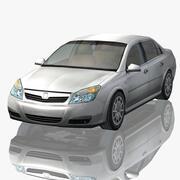Jenerik Sedan Araba 3d model
