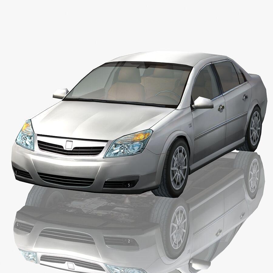 Generic Sedan Car royalty-free 3d model - Preview no. 1