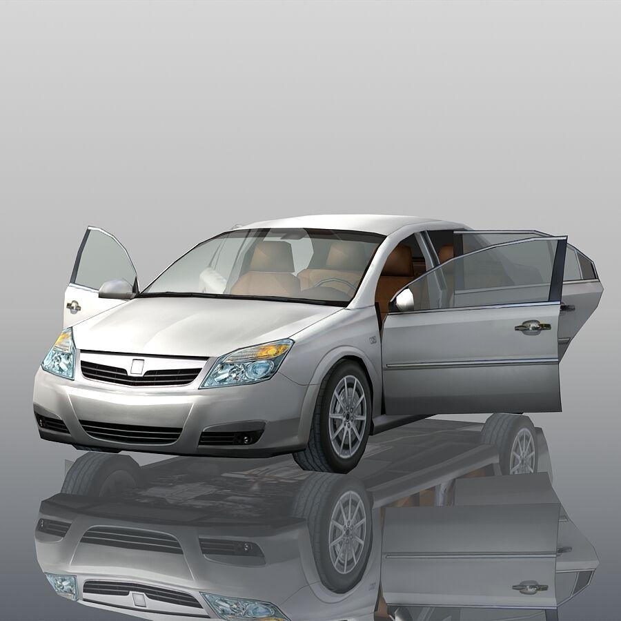 Generic Sedan Car royalty-free 3d model - Preview no. 11