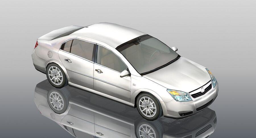 Generic Sedan Car royalty-free 3d model - Preview no. 3