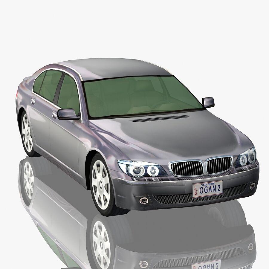 Jenerik Lüks Sedan Araba royalty-free 3d model - Preview no. 1