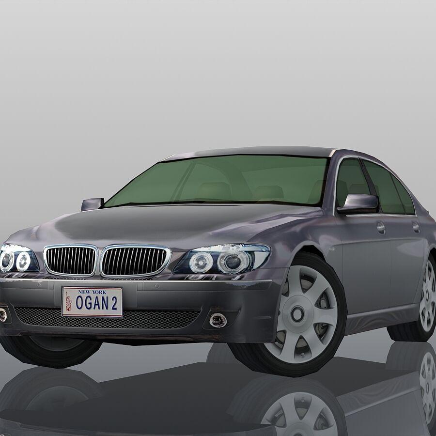 Jenerik Lüks Sedan Araba royalty-free 3d model - Preview no. 14