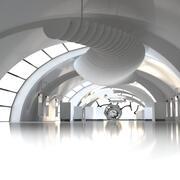Galerie für moderne Kunst 3d model