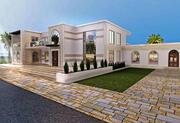 带自动绘图的伊斯兰别墅 3d model