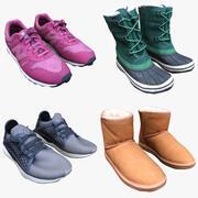 Shoes Collection Vol 04 3d model